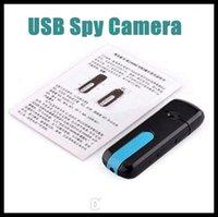 Cheap 2015 Newest Spy Mini DVR U8 USB Disk HD Hidden Spy Pinhole Camera Motion Detector Video Recorder Black 10PCS in sotck