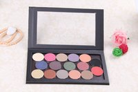 best lagers - Best Quality Mineral Eyeshadows with Leopard Print Magnetic Palette Kit Lager size mm metal pan