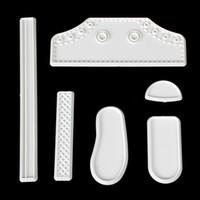 Wholesale hot sale set Plastic Fondant High Cut Sneaker Mold Cookie Cutter Cake Decorating Tool LIF_515