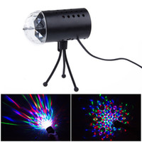 Wholesale Auto Portable Mini Projector R G DJ Disco Light Stage Party Laser Lighting Show DJ BL Full Color W AC V PM00052