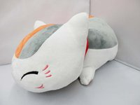 Wholesale Retail cm Natsume Yuujinchou Nyanko Sensei Plush Cat Anime Doll Toy Xmas Christmas Gift