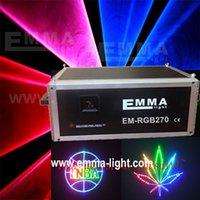 Wholesale laser W RGB animation lazer DJ light stage light disco party light laser show system show light