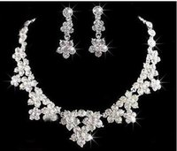 Wholesale D32 Mixed order styles Wedding Butterfly Jewelry Sets Fashion Necklace