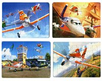 airplane patterns - Story children s educational cartoon airplane plane paper puzzles four kinds of patterns optional