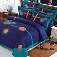 brand bedding sets - 2015 Famous Brand Bohemian Bedding Sets European Style Embroidery Bedding Suite High Quality Home Collection Queen King Size