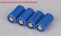 Wholesale 2pcs EDS Unprotected li ion v mah rechargeable battery