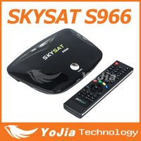 Wholesale 1pc Original SKYSAT S966 Satellite Receiver SKYSAT support IKS SKS for South America better than Tocomsat Post
