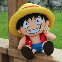 Best-selling Dolls: Naughty Captain Luffy in One Piece Soft Plush ...