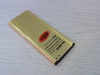 Wholesale Gold Replacement Cell Phone Battery For Samsung Galaxy Note N910F N910H High Capacity Power mAh Batteries Golden Battery