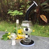 ball sprinkler - Recycler Glass Bong Water Pipe JM Flow Sci Glass Mega Sprinkler to Cross Crystal Ball Hornet Recycler Inches Tall