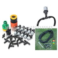 Wholesale m Outdoor Garden Patio Misting Cooling System Plastic Mist Nozzle Sprinkler Watering Kits