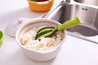 Wholesale 2015 kitchen multifunctional vertical not sticky rice ladle wash rice egg beater kitchenware cooking tools n116