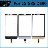 touchscreen - Black Touch Screen Original For LG D690 Outer Glass Panel Digitizer Replacement Parts Best Price Touchscreen