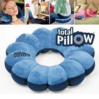 amazing comfort - The Amazing Versatile Pillow Cradles You In Comfort In Pillow Changes Shape in Seconds Massage Plum Flower Pillow dandys