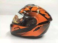 Wholesale high quality KTM Sports Safety ktm off road helmets motorcycle race helmets cycling windproof helmets full face kk