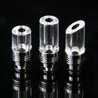 bar edit - Electronic smoke gasifier Drip tip Accessory Thick Glass mouthpiece Kayfun Lite Pawns Migo Atomizer RBA Kayfun Lite Plus Five Pawns Edit
