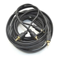 Wholesale Car Styling m g RH004 Serie RCA Stereo Cable With Pole High Strand Solid Core OFC Conductors Price Performance Series