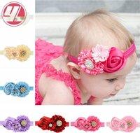 auger accessories - 2015 New arrival Christmas gift girl gift Children s headband Set auger roses Children accessories Hair band EFJ20
