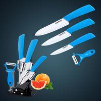 kitchen knives set - Ceramic knife Gift Set of ceramic kitchen knife knife set quot quot quot ceramic peeler Acrylic holder