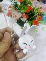 t-mobile cell phones - cell phone cases cartoon rabbit with siupport functions when you are watching TV mobile hone don t have to hold it in hand o
