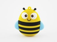 8gb memory stick - Cartoon Animal Bee Shape GB GB GB GB GB GB USB Flash Drive Pen Drive Pendrive Memory Stick US0762