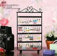 Wholesale New Jewelry Earring Display Holes Earring Jewelry Display Rack Stand Holder colors can choose