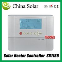 solar water heater controller - 2015 New SR1188 Solar Controller With Internet acces water heater system controller Swimming pool heating systems sensor