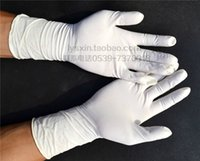 surgical gloves - 30 Pairs Protective Work Gloves Disposable medical individually wrapped Powdered surgical examination gloves