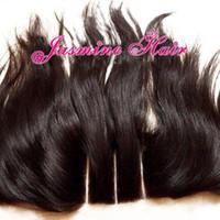 Cheap Cheap 3 part lace frontal closure virgin peruvian straight hair