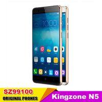 Wholesale Original Kingzone N5 G RAM G ROM MTK Quad core Processor inch HD Screen MP Camera Android Mobile Phone