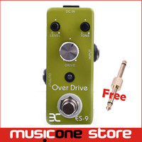 Wholesale Eno Music EX Micro OD ES Classic Over Drive Guitar Effect Pedal Metal Shell Tc17 Free connector MU0132