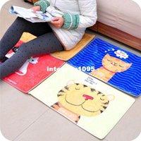Wholesale Cartoon suede thickening antiskid mat to door of the sitting room the bedroom carpet mat floor MATS JD18