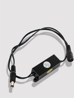 automatic sensors - 5 mm Male Female Plug DC Automatic Mini LED strip use pir motion sensor V detector switch for led strips