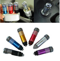 Wholesale Air Purifier New V Mini Auto Car Fresh Air Ionic Purifier Oxygen Bar Ozone Ionizer Cleaner