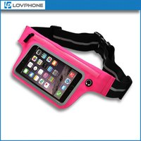 bands handbags - Running Belt For iPhone s Pouch Waist Bag Travel Handy Hiking Outdoor Active Sport Packet Elastic Adjustable Band