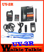 uhf radio portable - Hot Sale Brand New Baofeng UV R portable radio MHz MHz Baofeng UV3R for ham hotel commercial security use