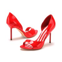 high heel open toe shoes - 2015 shoes D fuse Brand Ladies Thin High Heel Sandals Summer Open Toe Sandals