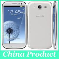 achat en gros de téléphone déverrouillé de galaxie-Original 4.8 '' Samsung Galaxy S3 i9300 1G / 16G Quad Core 8MP Camera GPS Wifi 3G Téléphone Unlocked Remis en état de stock