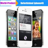iphone4s mobile phone - Refurbished iPhone s Original Apple iPhone4S Unlocked smartphone G wifi GPS GB GB ROM iOS Dual Core Refurbished mobile phone
