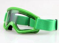 atv racing frames - Sports Eyewear Skiing Eyewear Adult FLY RACING FOCUS Motocross ATV MX Off Road Goggles Green Frame Clear lens