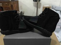 Cheap Free DHL Shipping Yeezy Boost 750 Black kanye west Triple BLACK High height increasing Outdoor Athletics Basketball Shoes Men 350 Trainers