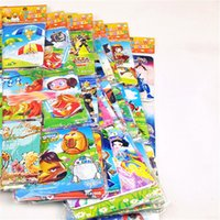 Wholesale Factory Directly cm Paper Cartoon Jigsaw Puzzle Puppets Baby Early Education Toy Doll Hobbies Stuffed Educational Toy TY060