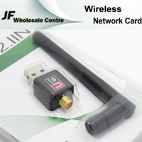 Wholesale 150Mbps Wireless Network Card WiFi Receiver WiFi Transmitter M USB Network Card WiFi Adapter Antenna Computer Software Driver