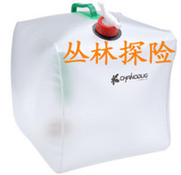 Wholesale Outdoor folding water bottle water bag L with tap water bag bucket bag special offer pvc environmental protectio