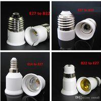 Wholesale LED Bulb Base Adapter E27 to E14 E14 to E27 E27 to B22 B22 to E27 Converter for LED Halogen CFL Light Bulb Lamp Holder LED Lamp Bases