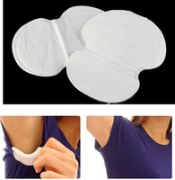 Wholesale 12PCS Disposable Absorbing Underarm Sweat Guard Pads Deodorant Armpit Sheet Dress Clothing Shield Sweat Perspiration Pads