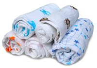 Wholesale top new Sets Good quality baby cotton blanket cotton baby muslin blankets newborn cotton swaddle