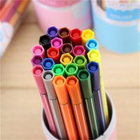 Wholesale Promotion Price Set Colors Washable Watercolor Pens Marker Painting Drawing Art Supplies School office