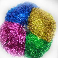Wholesale Game pompoms g Cheering pom pom Cheerleading supplies Color can choose