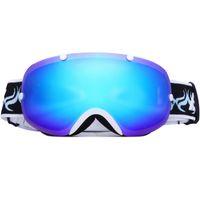 Wholesale Be nice brand new fashion ski goggles double lens UV400 anti fog ski glasses skiing snowboarding men women cool snow goggles
